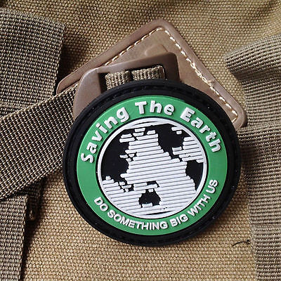 Earth rubber patch