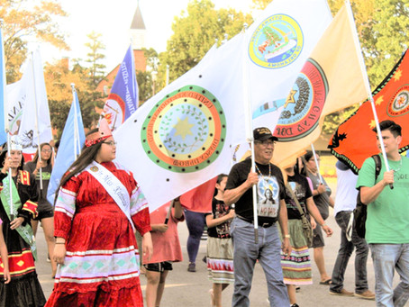 UKB Helps Tahlequah celebrate Second Annual Indigenous People's Day