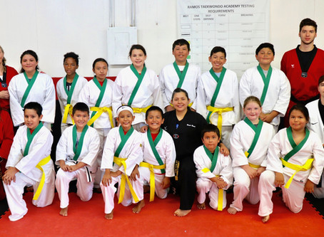 14 Keetoowah kids graduate to yellow belts