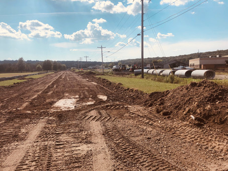 UKB Campus undergoing road construction projects