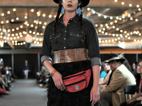 Downing conquers the runway for Native Fashion in the City