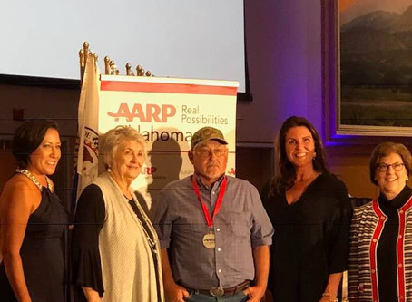 Two UKB Elders honored by AARP