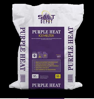 Purple Heat Ice Melt Bag