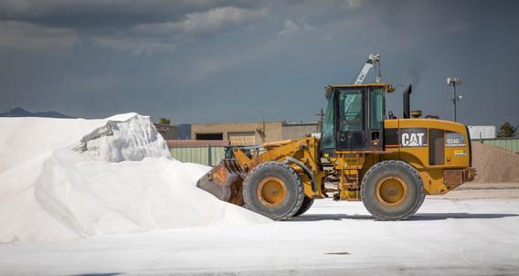 Tractor Loading Salt