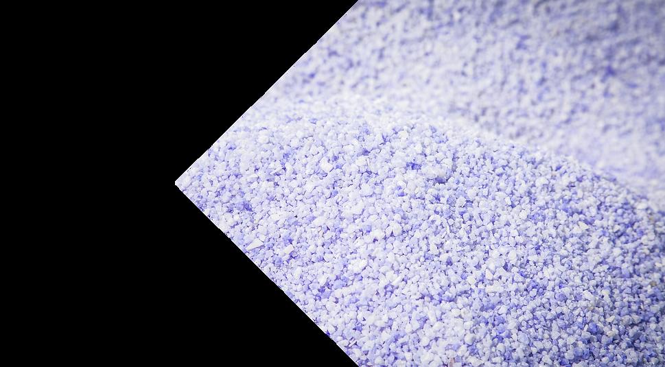 Purple Ice melt salt