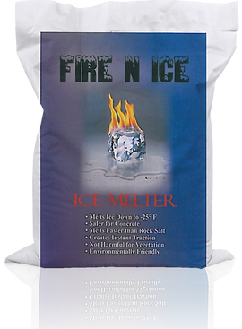 Fire N Ice ice Melt bag