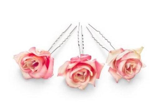 CELEBRIDE | Rosenhaarnadel rosa