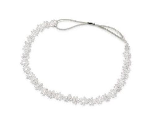 CELEBRIDE | Haarband mit Spitzenblümchen