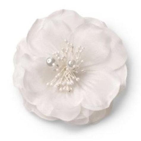 CELEBRIDE | Blume auf Clip mit Perlen
