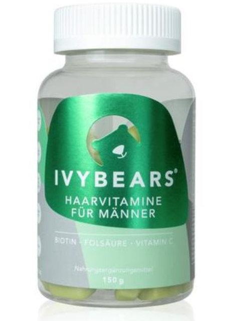 IVYBEARS- Das Haarvitamin für Männer