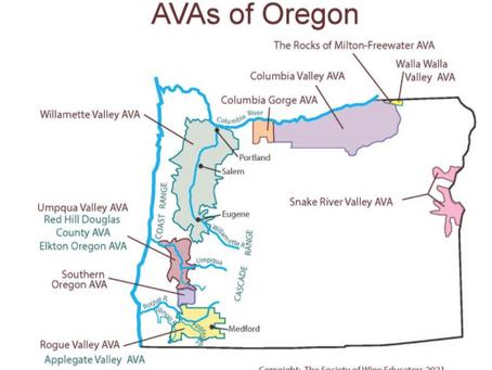Oregon Wine Month: Growing Regions