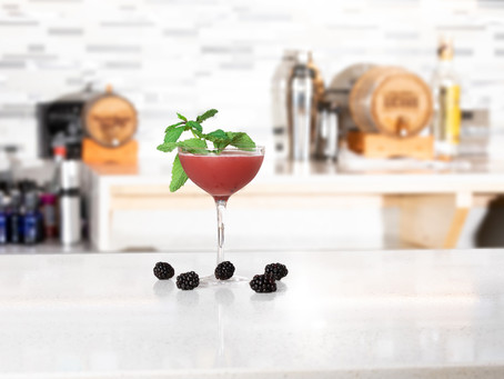 Alcohol Awareness Month: The Brambler & Blueberry Hustle