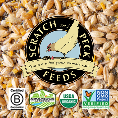 Scratch and Peck Organic Grower with Grit