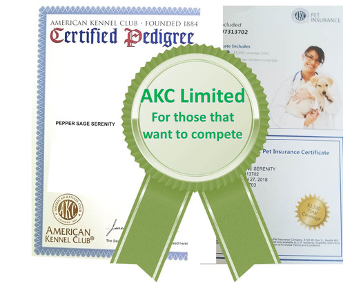 Add AKC Registration & Pet Insurance