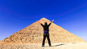 Giza Pyramid of Egypt - A Childhood Dream Come True