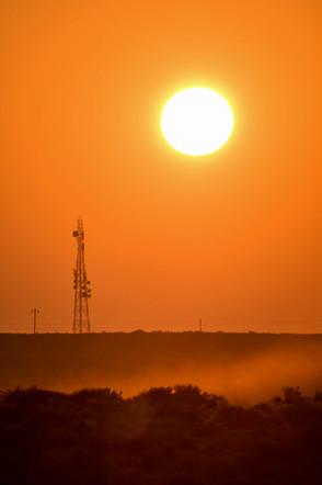 Sunrise at Desert