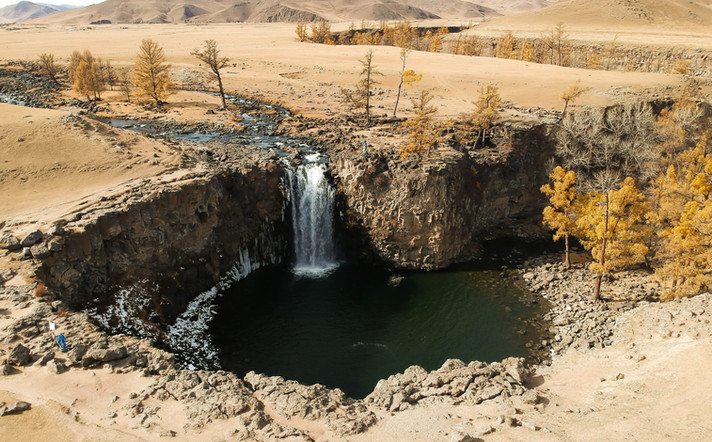 Waterfall in the Hole