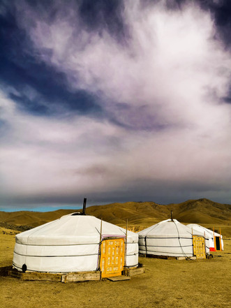 Blue Sky of Mongolia