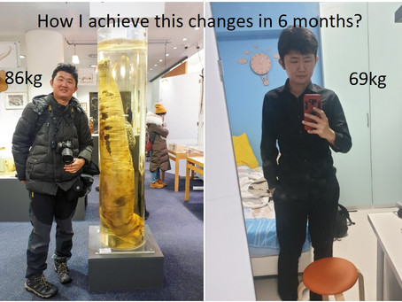 I want to Lost Weight, but how? Here how I do it - Part 1.