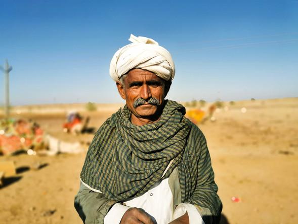 Jaisalmer old man