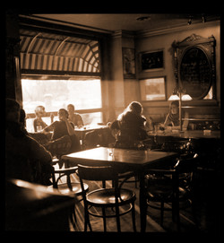 The old Cafe Amsterdam vibes