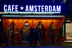 Cafe Amsterdam on Kings Day