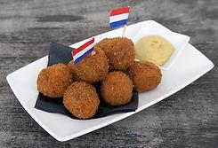Cafe Amsterdam Bitterballen Dutch Traditional snack
