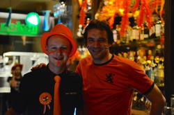 Kings Day Party at Cafe Amsterdam Oslo 1
