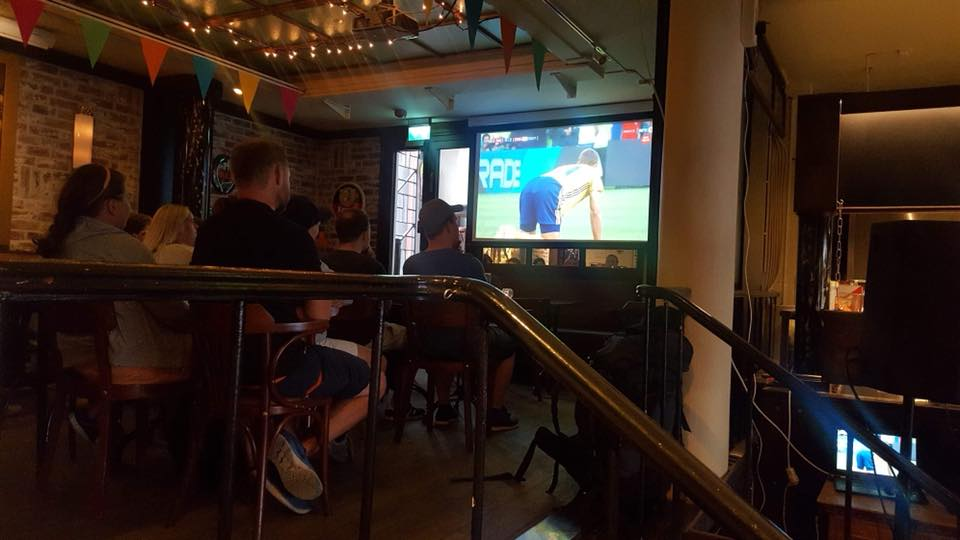 World Cup 2018 at Cafe Amsterdam Oslo