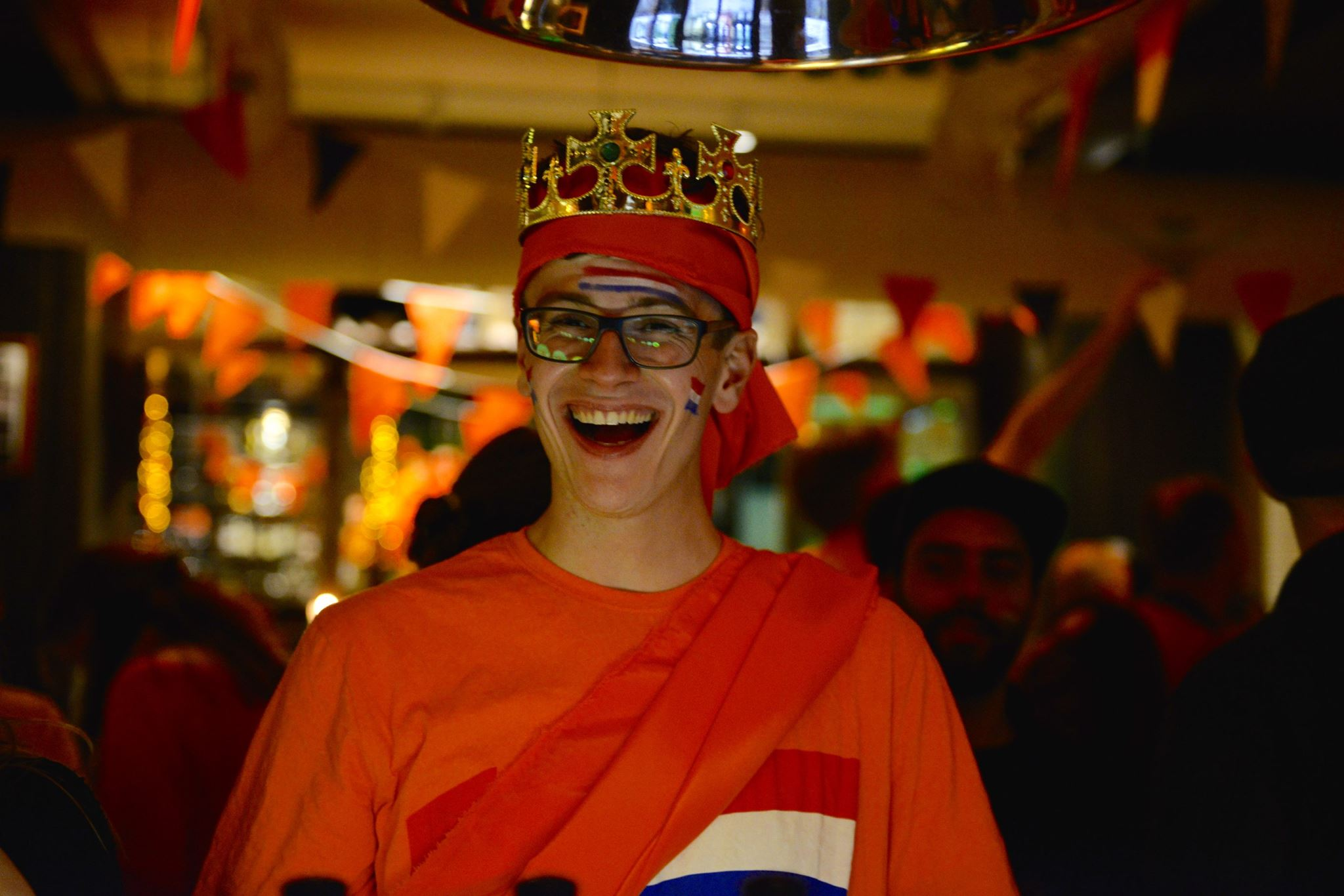 Kings Day Party at Cafe Amsterdam Oslo 2