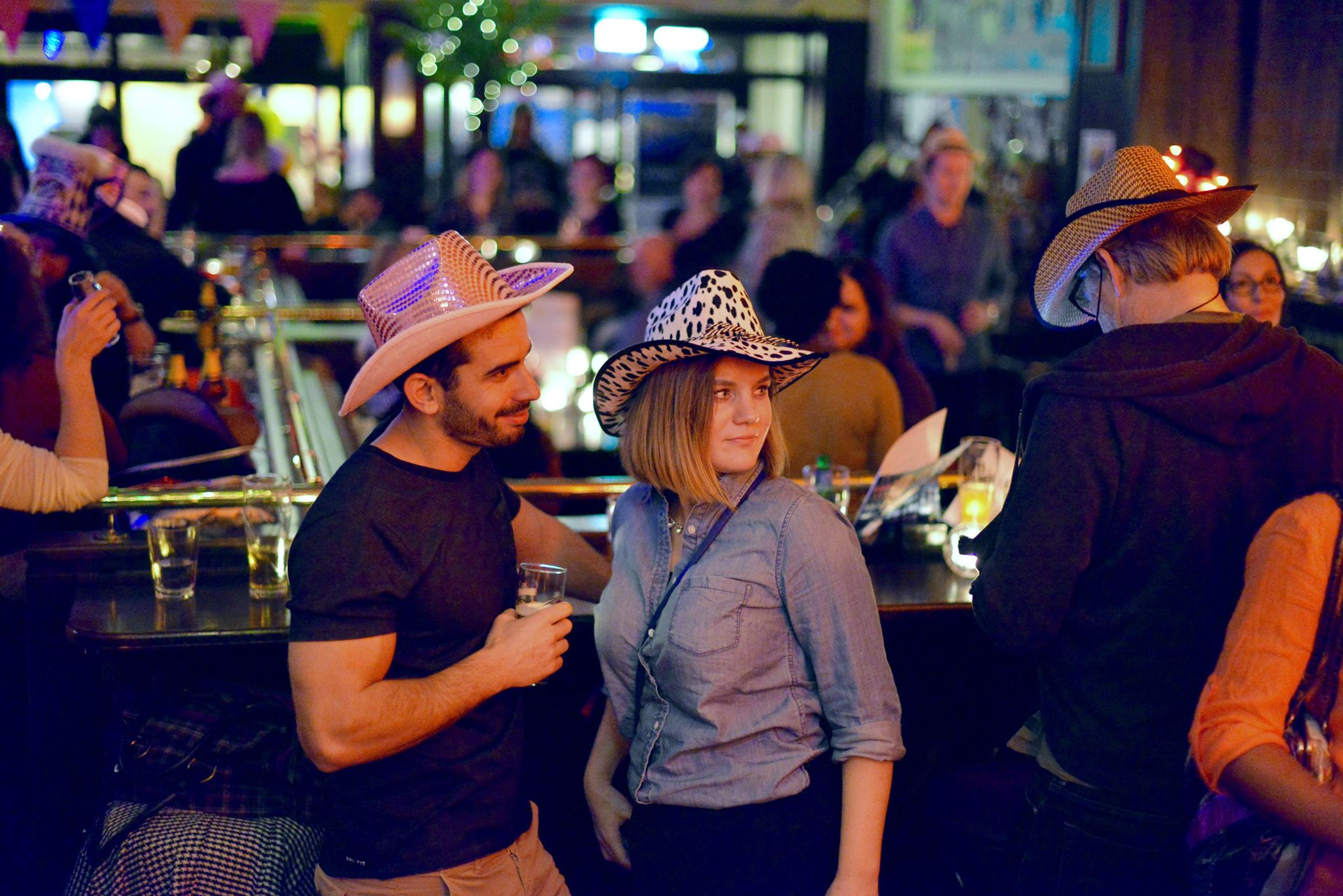 Cafe Amsterdam 2nd birthday Hat party 18