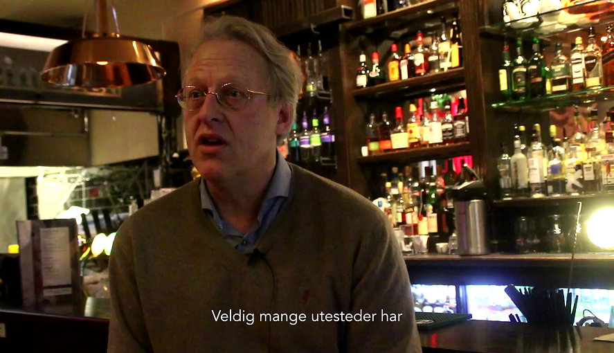 About Dutch spirited pub in the heart of Oslo Cafe Amsterdam 2016 by ostv.no