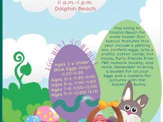 Easter Egg Hunt – April 13