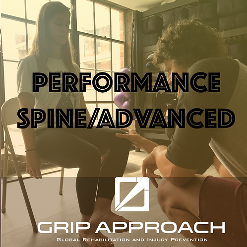 GRIP Performance Spine/Advanced Certification (Chicago) Oct 24-25, 2020