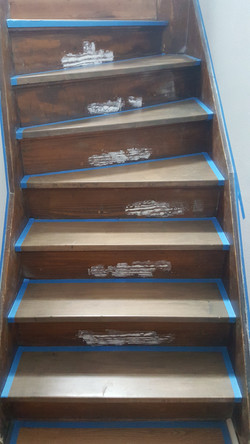 Back Stair Painting (Before)