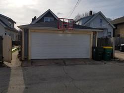 Single Bay Garage Door Install (After)