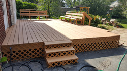 Ground Level Deck Refinishing (AFTER)