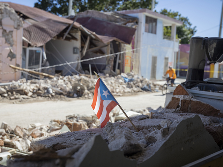 Earthquakes Devastate the Island of Puerto Rico Leaving Many To Flee In Fear of More Damage