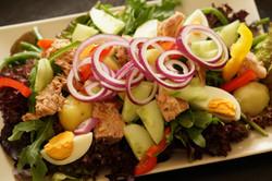 Wechselnde Salat