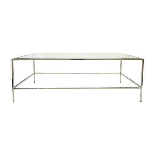 Carter Stainless Steel Coffee Table