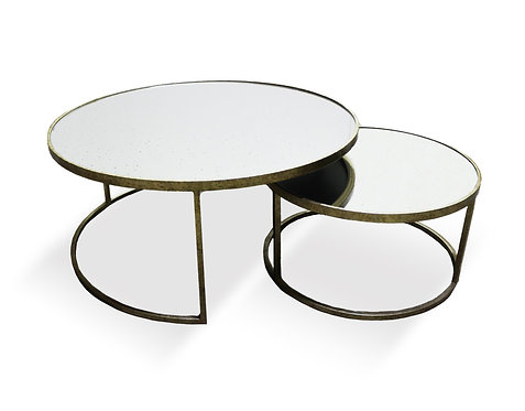 2 Nest Round Coffee Table