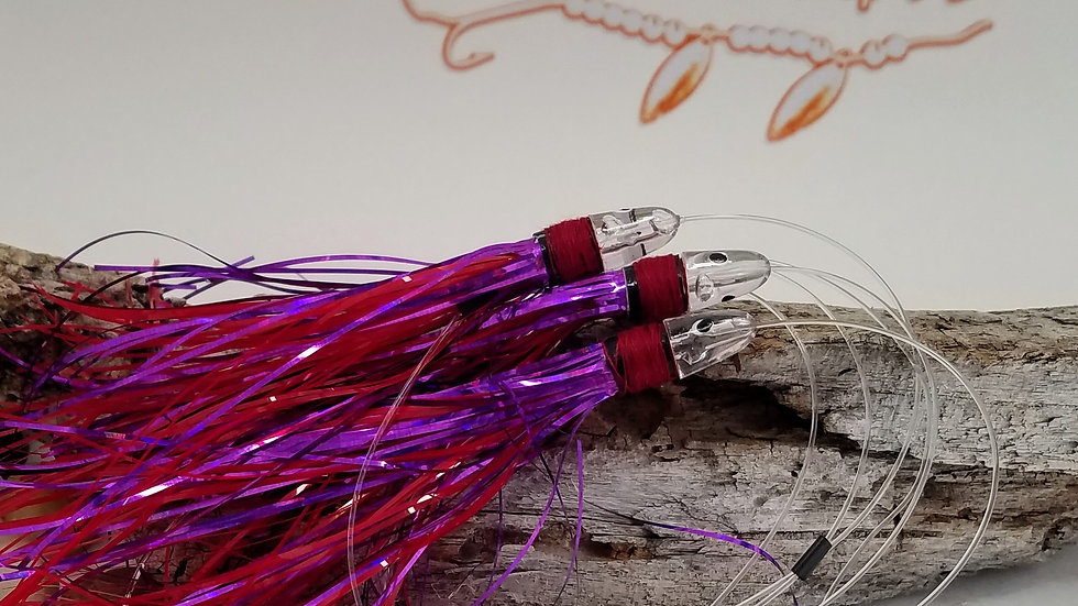 Red/Purple Meat Rig