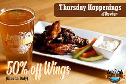 happenings thursday wings