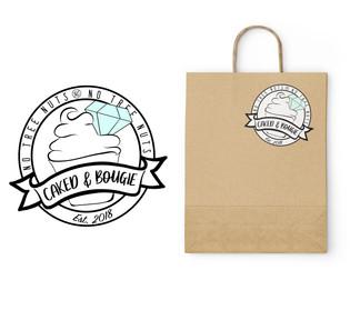 Caked & Bougie Logo