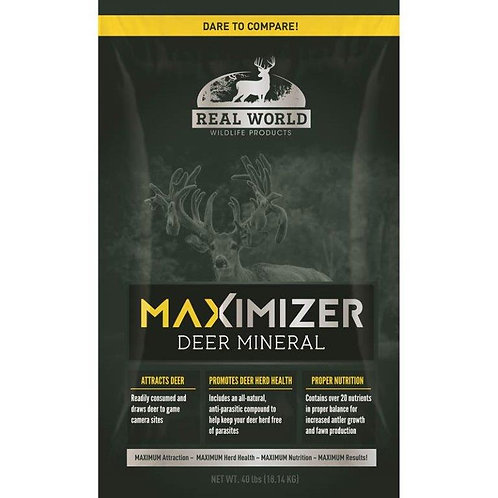 Real World's Maximizer Deer Mineral