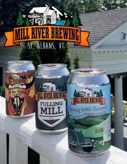 Beer on the railingf