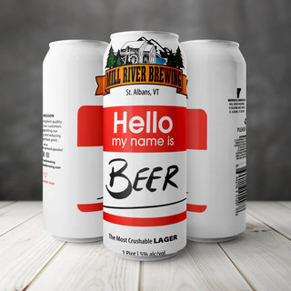 Hello, my name is Beer Lager