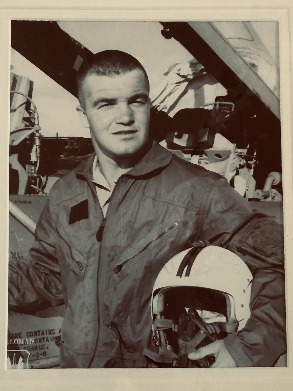 Dad at Hill Air Force Base