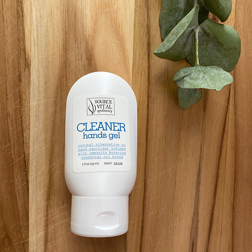 Cleaner Hands Gel - Natural Hand Sanitizer