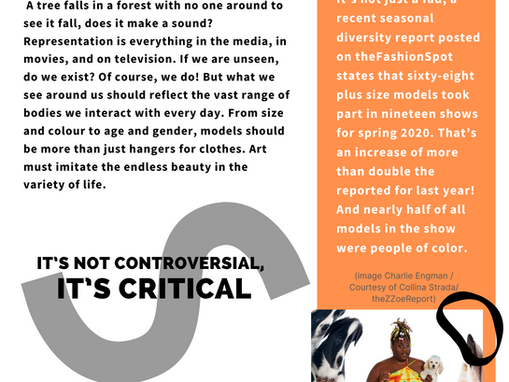 An Outlook on Diversity in Fashion for Spring / Summer 2021